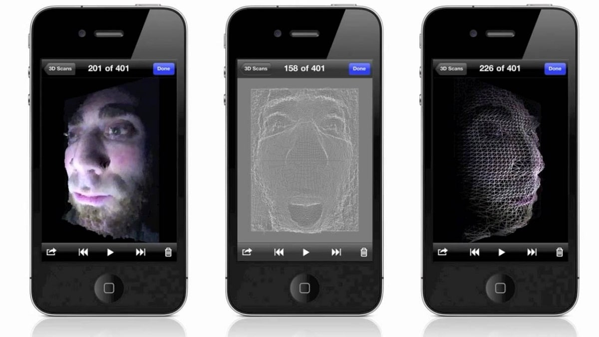 3D phone scanner