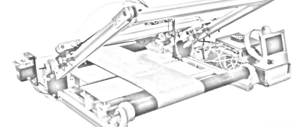 3D belt printer